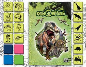 Obrázok Zábavné razítkování Dino
