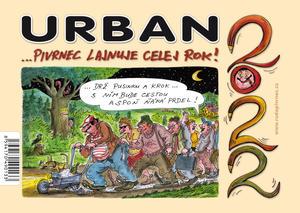 Obrázok Urban...Pivrnec lajnuje celej rok! 2022 - stolní kalendář