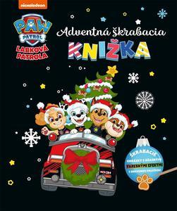 Obrázok Labková patrola Adventná škrabacia knižka