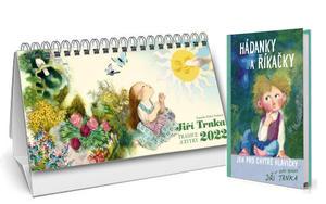 Obrázok Trnkův stolní kalendář 2022 + Hádanky a říkanky