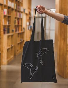 Obrázok Černá plátěná taška