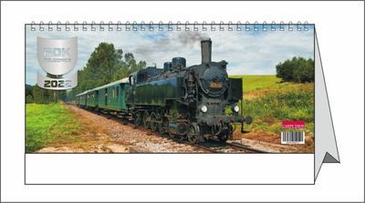 Rok železnice - stolní kalendář 2022