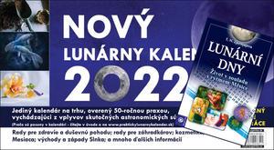Obrázok Nový Lunárny kalendár 2022 + Lunární dny