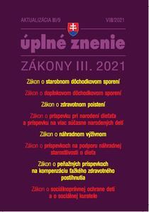 Obrázok Aktualizácia III/9 2021 Sociálne zabezpečenia