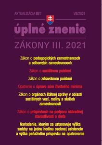 Obrázok Aktualizácia III/7 2021 Pedagogickí zamestnanci, Životné minimum