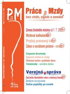 Obrázok Práce a mzdy 9/2021