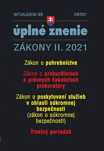 Obrázok Aktualizácia II/8 2021 Trestný poriadok
