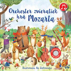 Obrázok Orchester zvieratiek hrá Mozarta