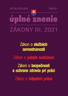 Obrázok Aktualizácia III/8 2021 Zamestnanosť