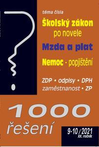 Obrázok 1000 řešení  9-10/2021