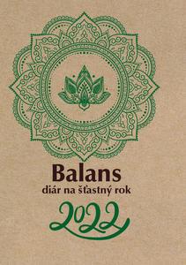 Obrázok Balans diár na šťastný rok 2022