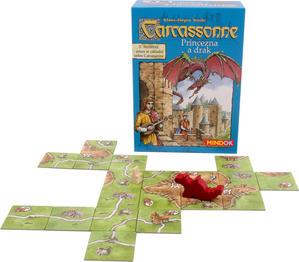 Obrázok Carcassonne rozšíření 3 Princezna a drak
