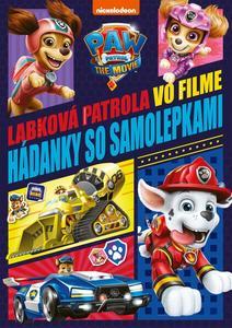 Obrázok Labková patrola - Hádanky k filmu so samolepkami