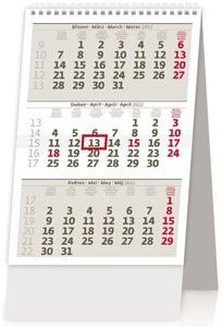 Obrázok Mini tříměsíční kalendář 2022