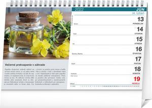Obrázok Bylinky a čaje 2022 - stolový kalendár