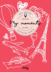 Obrázok Cestovní deník My Moments / červený