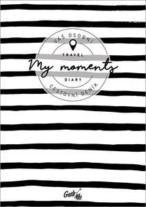 Obrázok Cestovní deník My Moments / pruhovaný