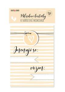 Obrázok Milníkové kartičky K narození miminka