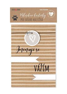 Obrázok Milníkové kartičky Pro vašeho mazlíčka