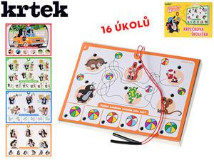 Obrázok Krtečkova školička (16 úkolů v krabičce)