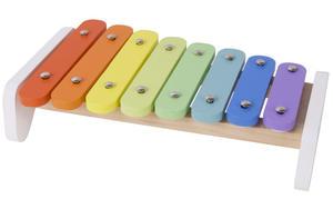 Obrázok Xylofon duhový dřevo s paličkou v krabici