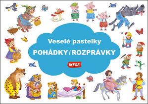 Obrázok Veselé pastelky Pohádky/Rozprávky