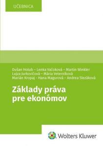 Obrázok Základy práva pre ekonómov