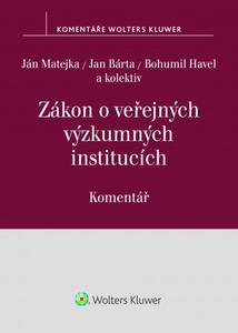 Obrázok Zákon o veřejných výzkumných institucích