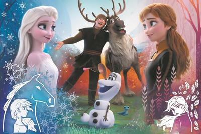 Obrázok Ledové království 2: Kouzelný čas 300 dílků