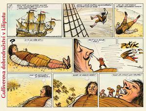 Obrázok Gulliverova dobrodružství v Liliputu